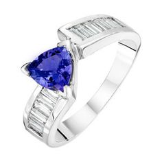 love tanzanite and this is a unique style