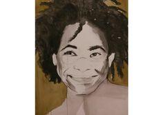 Portret van Rachelle Ferrell, gemaakt door Zus van Zand