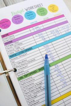 Family-Budget-Worksheet
