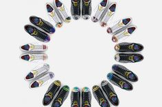 "Pharrell Williams x Todd James x Zaha Hadid x Mr. x Cass Bird x adidas Originals Supershell ""Artwork"""