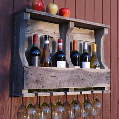 Ready to ship in 2 to 3 days.This beautiful distressed white 6 bottle wine rack will add that natural rustic touch that compliments any decor.