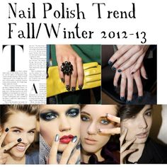 """""""Nail Trend 2012/13"""" by hind-jamjoom on Polyvore"""