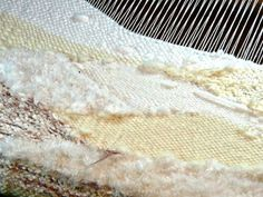 more texture in the form of saori weaving