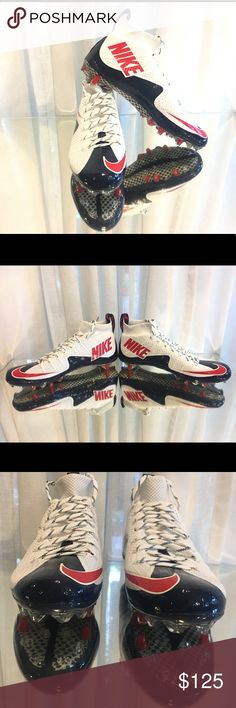 Rare Nike Vapor Untouchable TD Football Cleats NWOB Rare Nike Vapor Untouchable TD Football Cleats Red White Blue 707455-119 nike Shoes Athletic Shoes