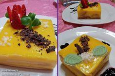 Hoy Cocinas Tú: Pastel con crema de naranja