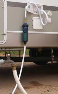 fresh water hookup for rv