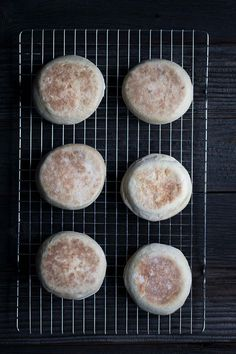 Easy English Muffins Recipe. SavorySimple.com