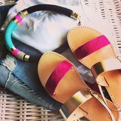#sandalaki#handmade_leather_sandals #greeksandals Like us on facebook:@sandalaki Follow us on instagram:#sandalaki