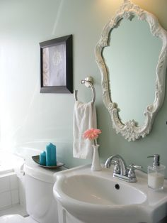 The Complete Guide to Imperfect Homemaking: {Home Staging 101} Part 4: Staging Bathrooms