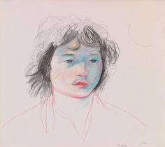 zero focus: David Hockney, Portrait of Shinro Ohtake, 1978.