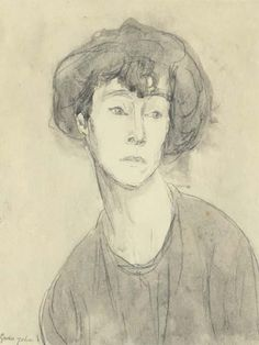 Portrait of a Woman: Chloe Boughton-Leigh By Gwen John ,Circa 1910 Portraits, Portrait Art, Portrait Paintings, Figure Painting, Painting & Drawing, Gwen John, Impressionist Paintings, Daily Drawing, Western Art