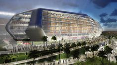 Report: Economic study of NFL stadium proposal in Carson plans to share the NFL football teams the Sandiego chargers and the Raiders in one facility to maximize profits and game attendance.