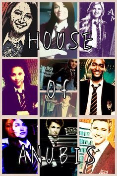 House of Anubis Characters- joy,patricia,amber,KT,willow,fabian,alfie,mara,jerome and eddie this is all in order love them all <3