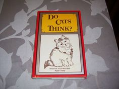 Do Cats Think by Paul Corey 1977 by jamesdorn on Etsy, $3.99