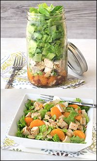 Hungry Girl's Chinese Chicken Salad in a Jar