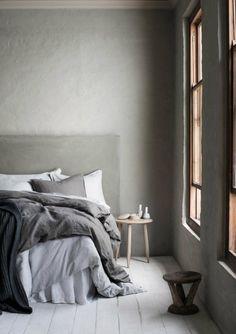 my scandinavian home: Celebrating calm, rustic space living Home Bedroom, Bedroom Decor, Gray Bedroom, Bedroom Inspo, Bedroom Ideas, Bedrooms, Greige, Hm Home, Scandinavian Home