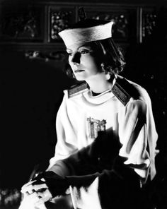Greta Garbo in The Painted Veil.  Got to watch this, I'm sure it's better than the most recent version.