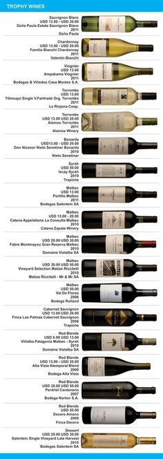 Argentina Wine Awards 2012 - Click image to find more travel Pinterest pins