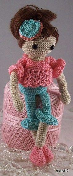 Jessica Nichole Crochet Pattern PDF for amigurumi by granof12, pattern