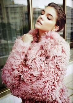 Vogue Portugal  December 2014, Barbara Palvin