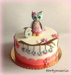 Rozkošná detstká torta so sovičkou:) Autorka: maria285. Tortyodmamy.sk