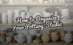 Keeping your pottery studio organized can be hard work. Studios are a potter's personal creative space, and like all creative spaces – they can get very messy very quickly. Pottery studios vary from potter to potter; we all have our own preference as to where things go, how things are done, and the cleaning of…