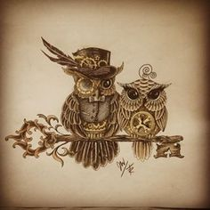 Lovely Steampunk Tattoos