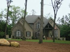 Elegant architecture and stylish details define this 4 bedroom European style home.  House Plan # 121108.