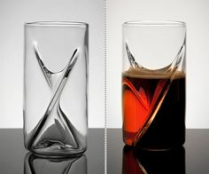 Dual Beer Glass | DudeIWantThat.com