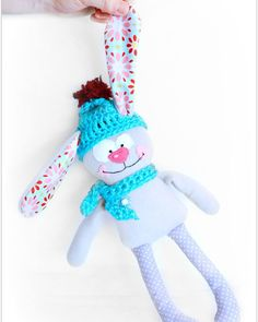 Stuffed bunny toddler gift easter gift by Fairybugcreativetoys Easter Toys, Easter Gift, Toddler Gifts, Gifts For Kids, Softies, Plushies, Bunny Plush, Funny Bunnies, Nursery Decor
