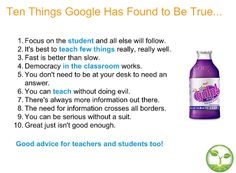 10 things google found to be true