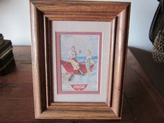 Small Framed Coca Cola Picture of an Old by MountainShine on Etsy, $9.00
