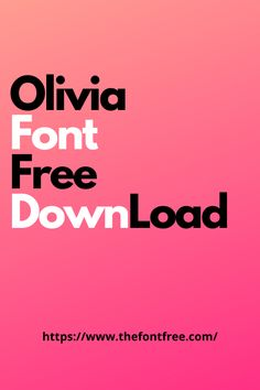 Download the beautiful Olivia font free. This modern typeface contains numbers, alphabet that you can use in tattoos and typography designs.