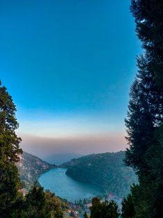 Naini Lake appears in the shape of a Mango from Lake View Point in Nainital Uttarakhand India Air Travel Tips, Travel Tips For Europe, Us Travel, Lake View, Incredible India, Cool Places To Visit, Backpacking, Beautiful Places, Travel