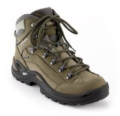 Lowa Renegade GTX Mid Hiking Boots - Got 'em! And they come in narrow, which meant a perfect fit. $220