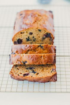 the only zucchini bread recipe you need | healthy blueberry zucchini bread