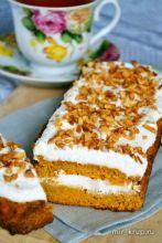 Правильно-питательный морковный пирог