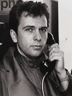 """allmyinstincts: """" Peter Gabriel in a phone booth, 1986. """""""
