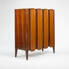 Osvaldo Borsani, Mahogany Cabinet, c1955.