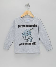 What good is a shirt without a pun? Get the giggles out with this silly cotton piece designed to tickle funny bones.