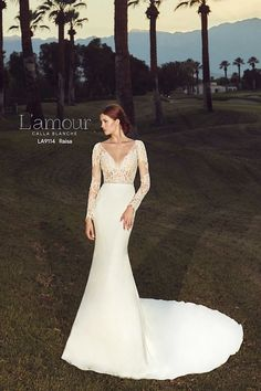 376f92a8aeca 17 Best Ivory & Beau - L'amour by Calla Blanche Wedding Dresses ...