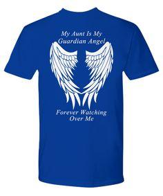 Aunt Guardian Angel - T-Shirt
