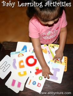 BABY LEARNING ACTIVITIES