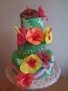 Cake That Bakery in Crystal Lake IL offers custom cakes, cookies, cupcakes and more. Our confections make your special occasion even more memorable. Cake Cookies, Cupcake Cakes, Cupcakes, Food Tips, Food Hacks, Hibiscus Cake, Luau Theme, Luau Birthday, Piece Of Cakes