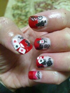Nails of the Day, Alice in Wonderland