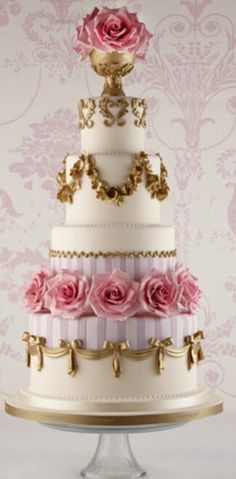 I love the roses and the gold designs