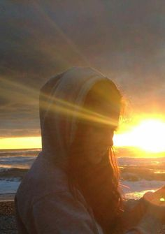 Sunset at Greymouth beach