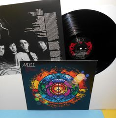 MELEE devils and angels Lp Record Vinyl w/ bonus track - Hall & Oats cover song #AlternativeIndieEmo
