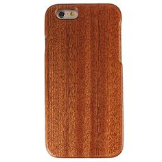 Genuine Real Natural Wood Bamboo Hard Cover Case For Apple iPhone 6 / 6s 4.7…