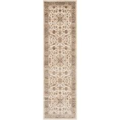 Safavieh Vintage Ifrit Power-Loomed Runner Rug, Stone/Mouse, Gray